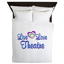 Live Love Theatre Queen Duvet