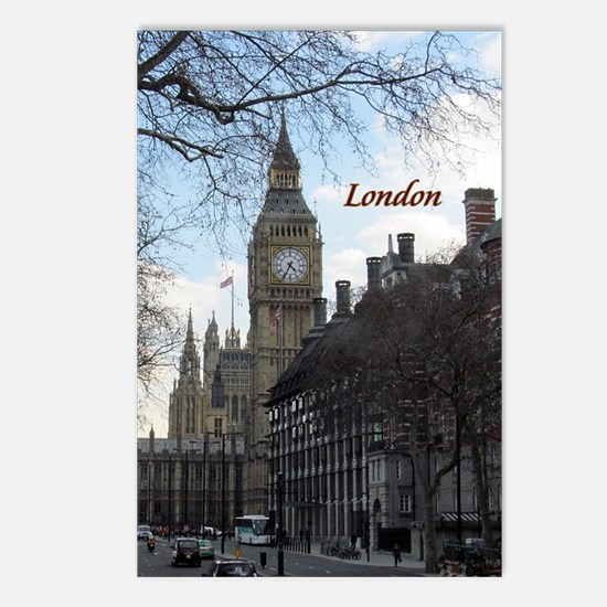 Cute Tower london london england Postcards (Package of 8)