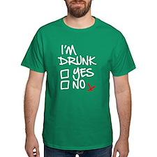 Drunk, check T-Shirt