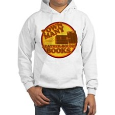 Leather Bound Books Hoodie