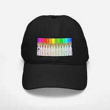 Melting Rainbow Pencils Baseball Hat
