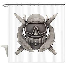 Spec Ops Diver Shower Curtain