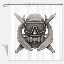 Spec Ops Diver Shower Curtain