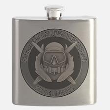 SF Spec Ops Diver Flask
