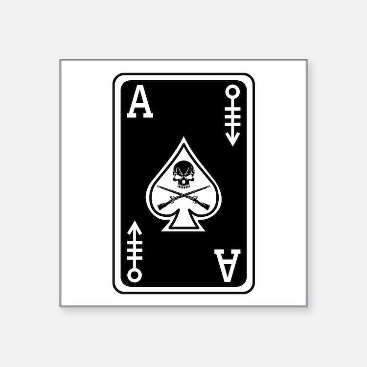 11C Ace of Spades - 120 Sticker