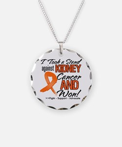 Kidney Cancer Stand Necklace