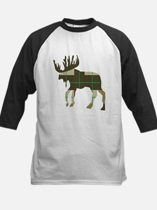 Plaid Moose Baseball Jersey