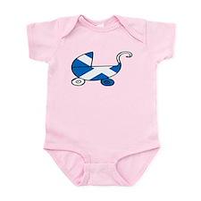 Scot's Baby Pram Infant Bodysuit