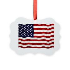 U.S Flag Ornament