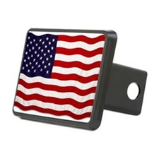 U.S Flag Hitch Cover