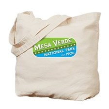 Mesa Verde National Park (gre Tote Bag