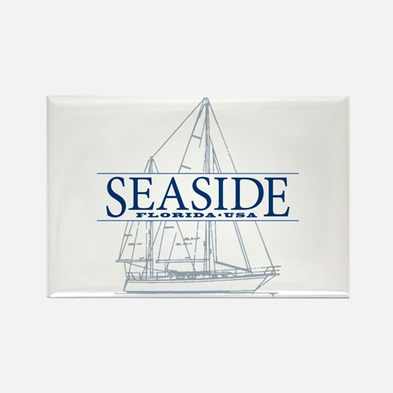 Seaside - Rectangle Magnet