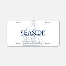 Seaside - Aluminum License Plate
