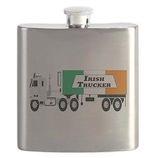 Irish Trucker Flask
