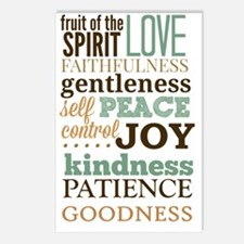 Fruit of The Spirit Galat Postcards (Package of 8)