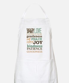 Fruit of The Spirit Galatians 5:22-23 Design Apron