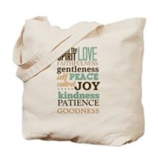 Fruit of The Spirit Galatians 5:22-23 Des Tote Bag