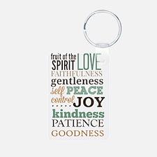 Fruit of The Spirit Galati Keychains