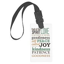 Fruit of The Spirit Galatians 5: Luggage Tag