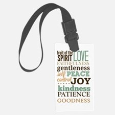Fruit of The Spirit Galatians 5: Luggage Tag