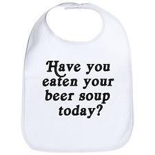 beer soup today Bib