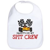 Race car Cotton Bibs
