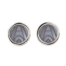 Tire Tread Round Cufflinks