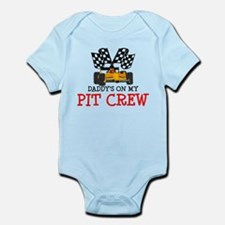 Daddy's On My Pit Crew Body Suit