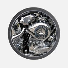 1940 Knucklehead Harley Wall Clock