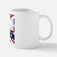UK Trucker w Flag Mug