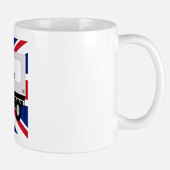 UK Trucker w Flag Mug