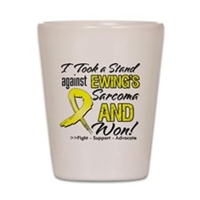 Ewing Sarcoma Stand Shot Glass