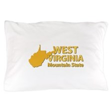 State - West Virginia - Mtn State Pillow Case