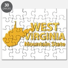 State - West Virginia - Mtn State Puzzle