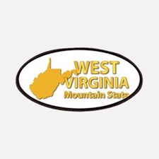State - West Virginia - Mtn State Patches