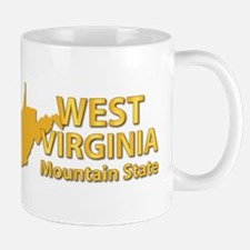 State - West Virginia - Mtn State Mug