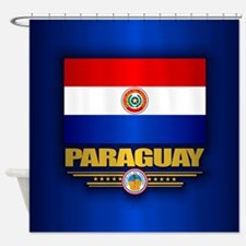 Paraguay National Flag Shower Curtain