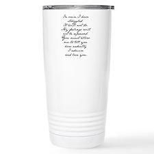 Unique Darcy Thermos Mug
