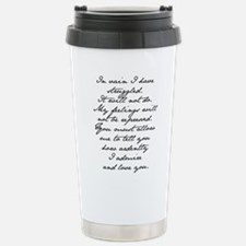 Cute Elizabeth bennet Travel Mug