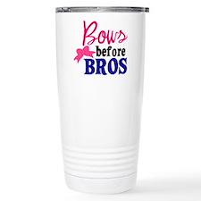 Bows Before Bros Travel Mug