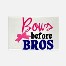 Bows Before Bros Magnets
