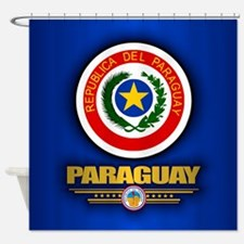 Paraguay Coat of Arms Shower Curtain