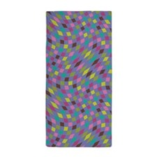 Flux Boysenberry Periwinkle Beach Towel