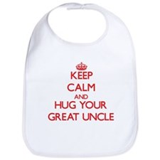 Keep Calm and HUG your Great Uncle Bib