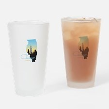 Chicago Illinois Drinking Glass