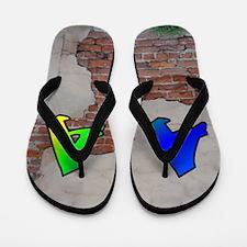 GRAFFITI #1 A Flip Flops