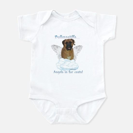 Bullmastiff Angel Infant Bodysuit