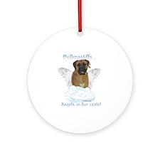 Bullmastiff Angel Ornament (Round)