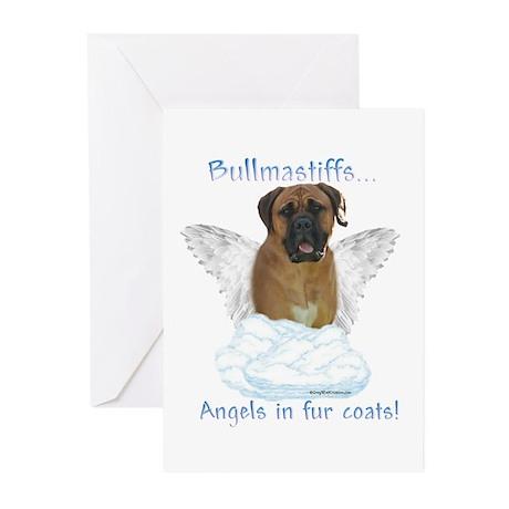 Bullmastiff Angel Greeting Cards (Pk of 10)