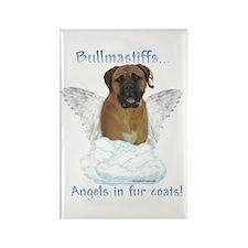 Bullmastiff Angel Rectangle Magnet